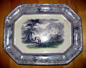 Granny Shook's Platter Comes Home to the Shook-Smathers House